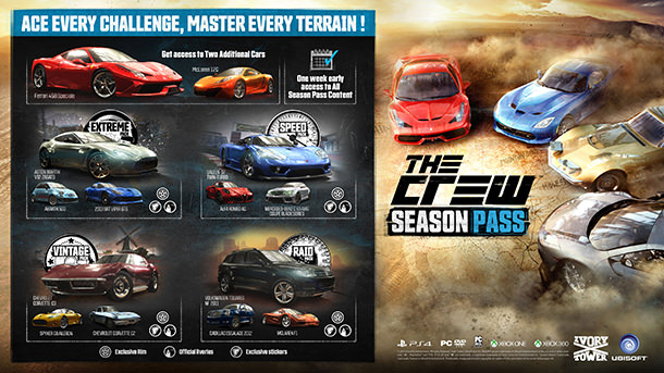 the crew season pass code