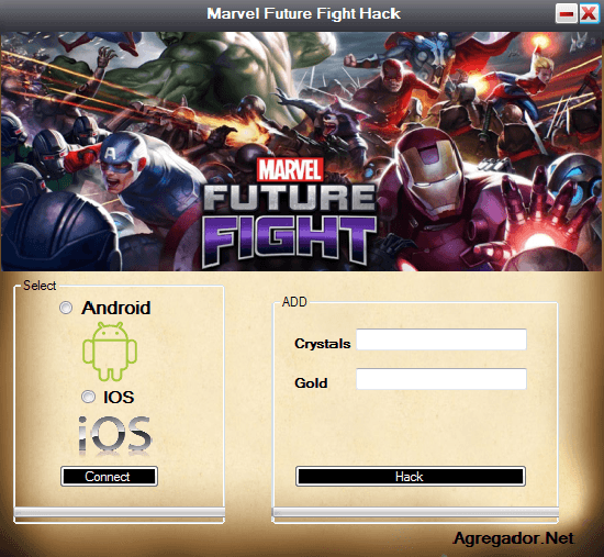 Marvel Future Fight Hack Screenshot