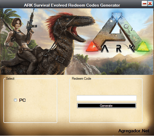 ARK Survival Evolved Redeem Codes Screenshot