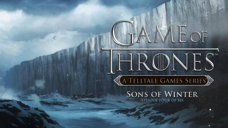 Game of Thrones Telltale Game Series Sons of Winter DLC Codes