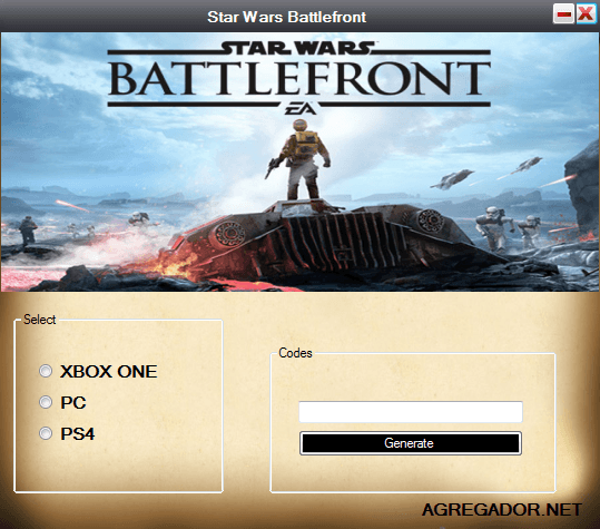 Star Wars Battlefront Redeem Code
