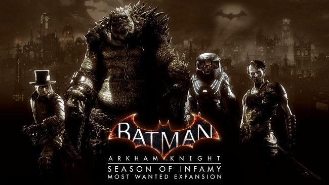 Batman Arkham Knight The Season of Infamy DLC Codes Generator