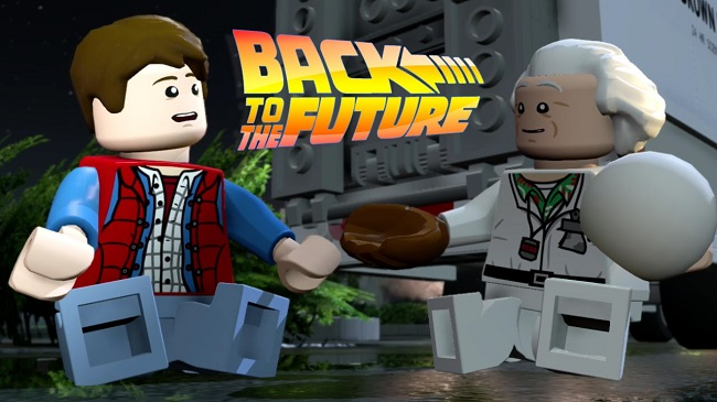 LEGO Dimensions Back to the Future Level Pack DLC