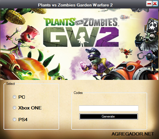 Plants vs Zombies Garden Warfare 2 Redeem Code