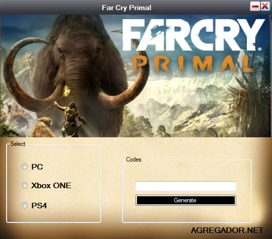 Far Cry Primal Redeem Code