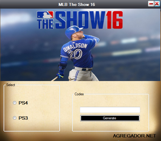 MLB The Show 16 Redeem Code