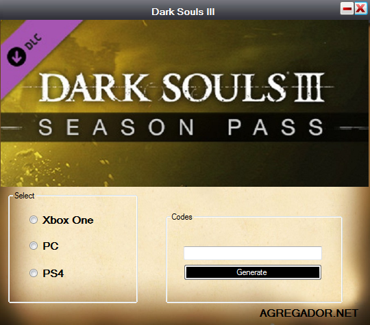 Dark Souls 3 Season Pass Code